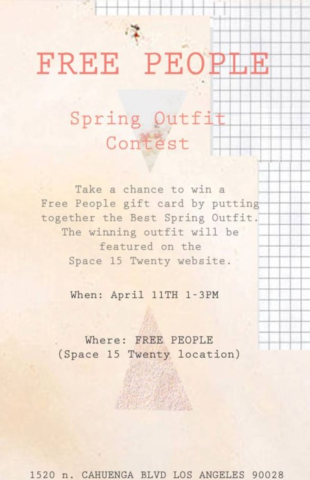 Post image for spring outfit contest at space 15 twenty!