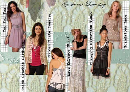 Post image for Spring's Hot Looks – Lace