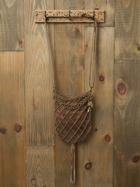 leather basket weave bag