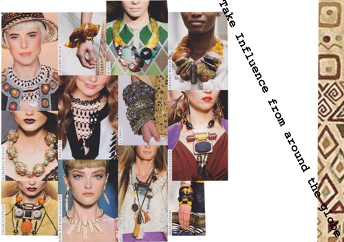 Post image for Aztec me – Tribal Jewelry Trend