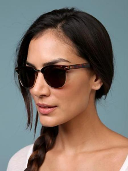 portman top rimmed aviator