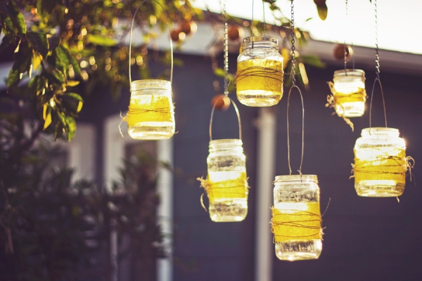 Mason Jar Chandelier DIY | Free People Blog