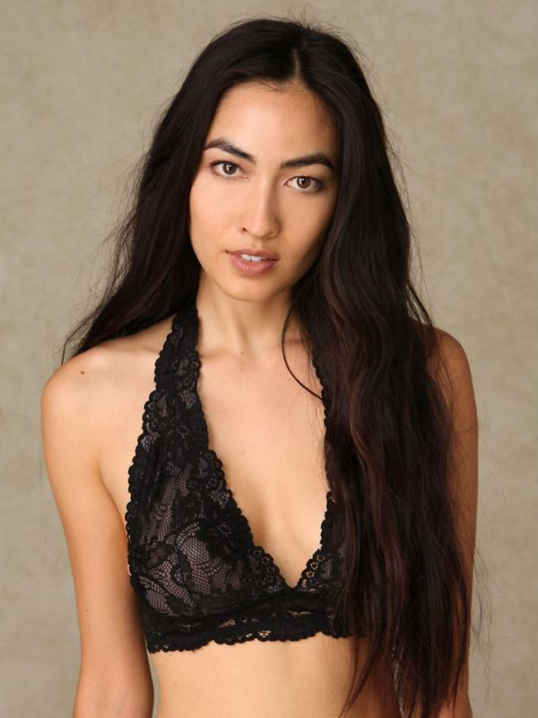 galloon lace halter