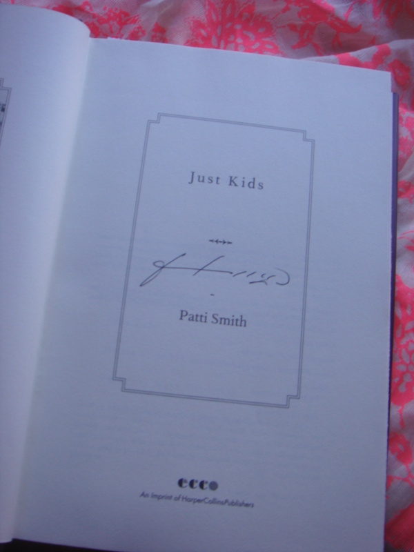Signed Book