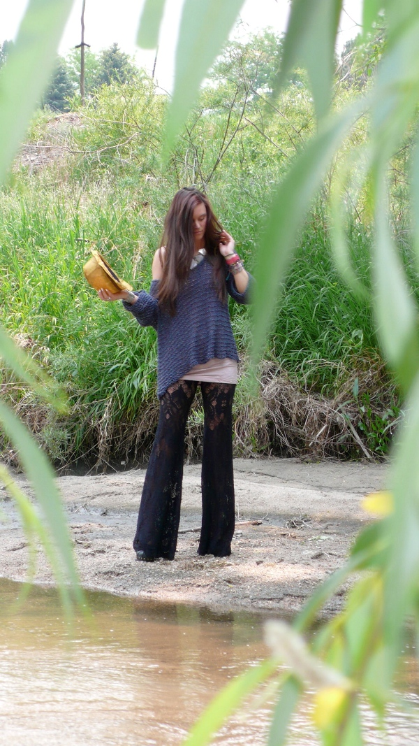 Post image for store style featuring the nightcap lace bell bottoms!