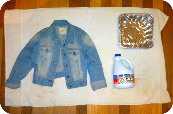Post image for DIY Bleached Denim