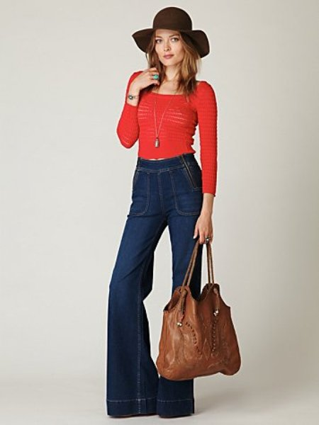 Blank High Waisted Zipper Jean