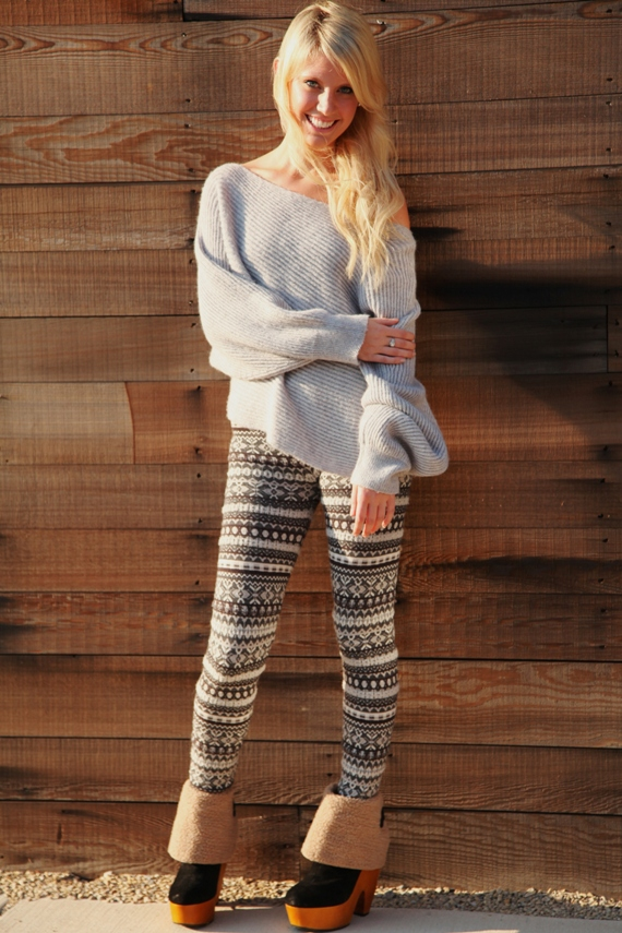 Post image for Street Style: Sweater Dressing