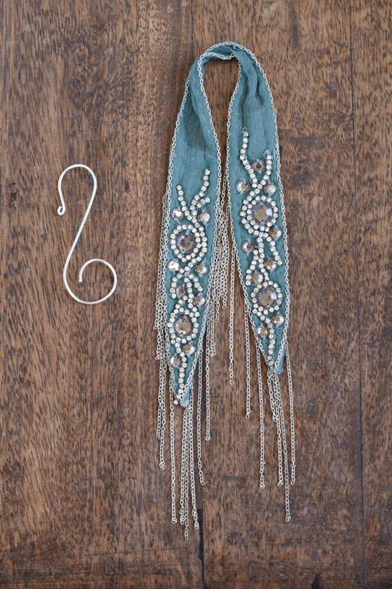 Post image for DIY Holiday Ornaments Turned Accessories: Headband