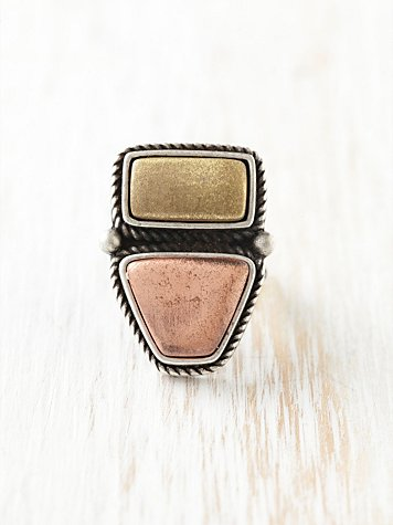 mix stone ring