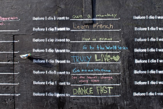 Before I Die 10 responses Before I Die...