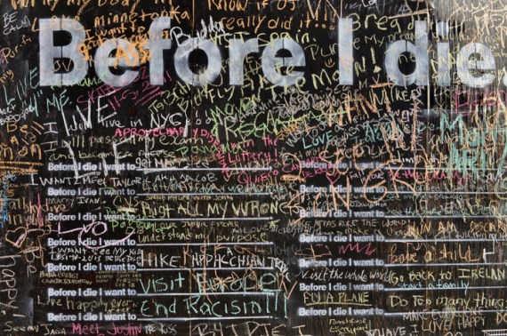Before I Die Brooklyn responses 2 Before I Die...