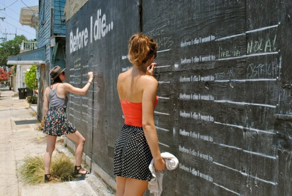 Before I Die writing two girls Before I Die...