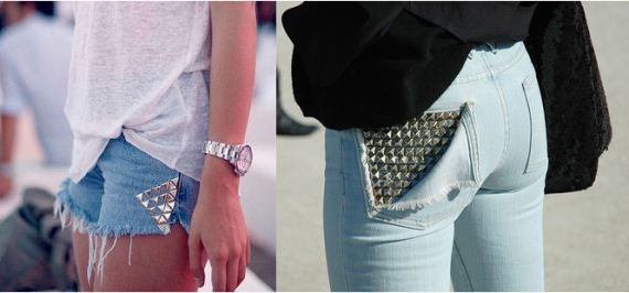 Post image for DIY Studded Denim Cutoffs