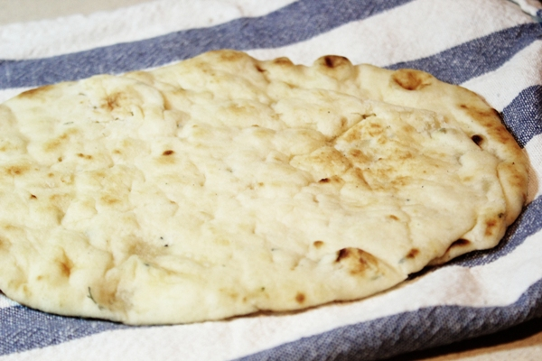 Post image for Fresh Vegetable, Sage, and Ricotta Flatbread