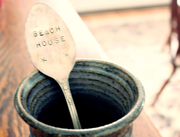 Post image for Garden Markers and More: DIY Stamped Spoons