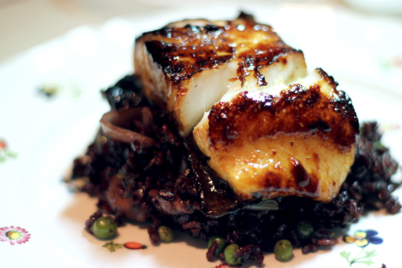 Post image for Miso-Glazed Sea Bass