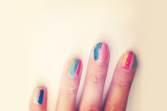 Post image for Nail Art: Art Attack
