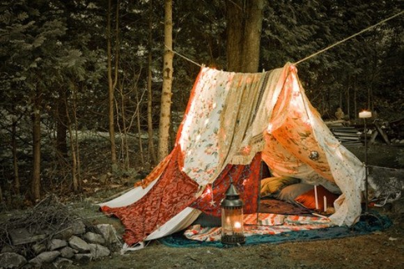 awesome sheet tent