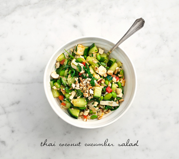 Post image for Thai Coconut Cucumber Salad from Love & Lemons