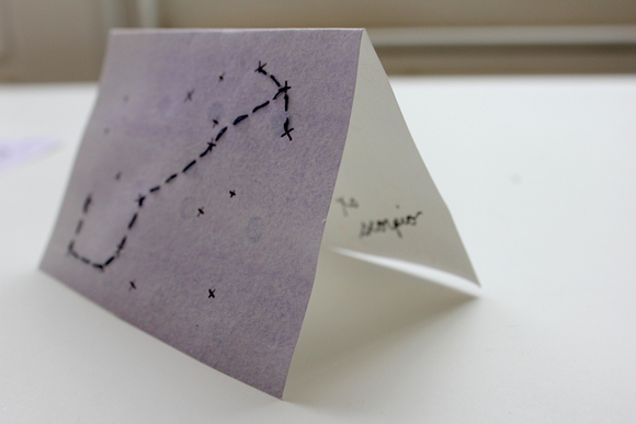 Post image for Star Signs: DIY Note Cards