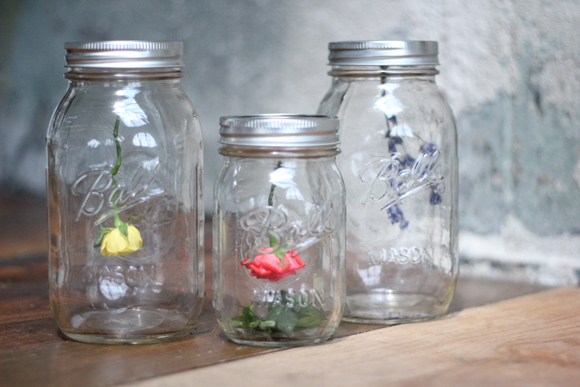 Post image for DIY Hanging Flower Mason Jars