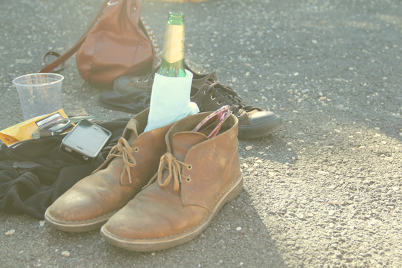 Shoes and Beer