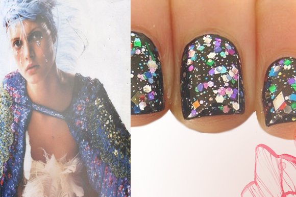 Post image for Nail Art: All That Glitters