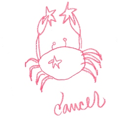 Cancer Star Sign Illustration