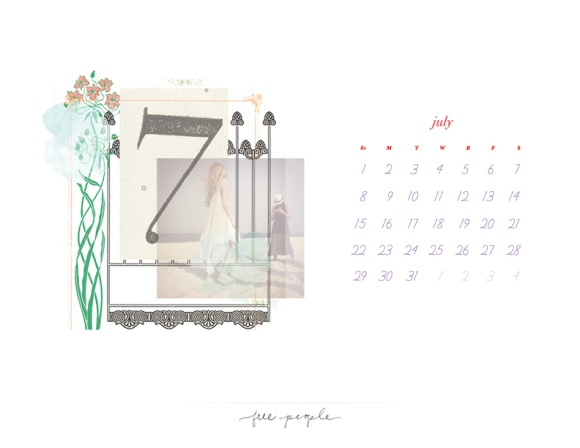 Post image for July Calendar – Download it Now!