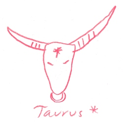 taurus star sign illustration