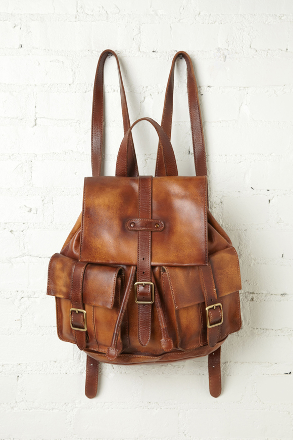 Cario Distressed Backpack