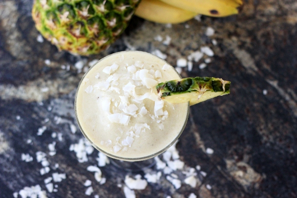 Post image for Summer Mocktails: Banana Piña Colada (With A Genius Twist!)