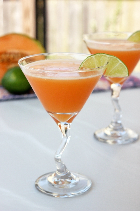 Cantaloupe Cocktail – Cantaloupe Mocktail