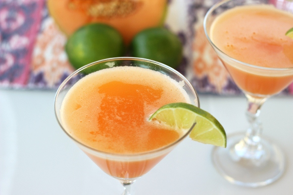 Post image for Summer Mocktails: Cantaloupe Mocktini/Martini