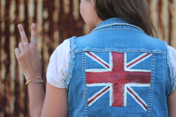 Post image for Olympic Denim Vest DIY And Giveaway!