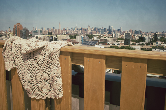 One Sweater goes to NYC