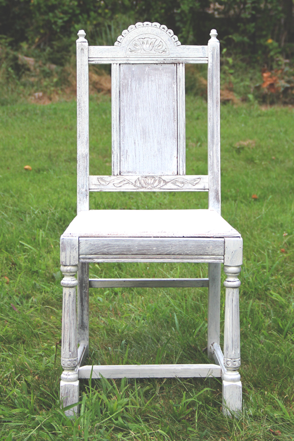 Whitewashed Chair