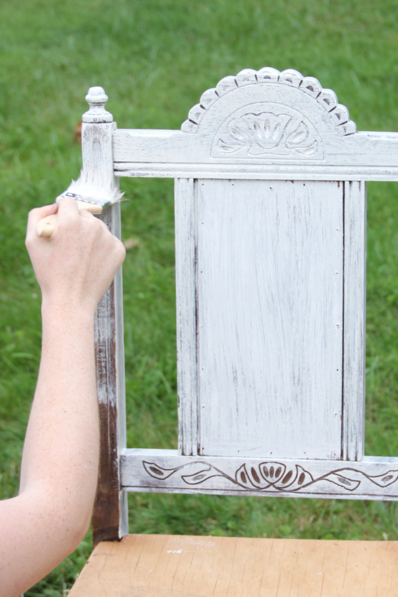 Whitewashing Chair