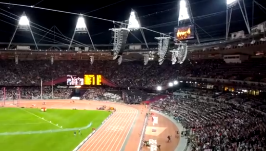 "Thumbnail image for Video: Entire Olympic Stadium Sings ""All You Need Is Love"""