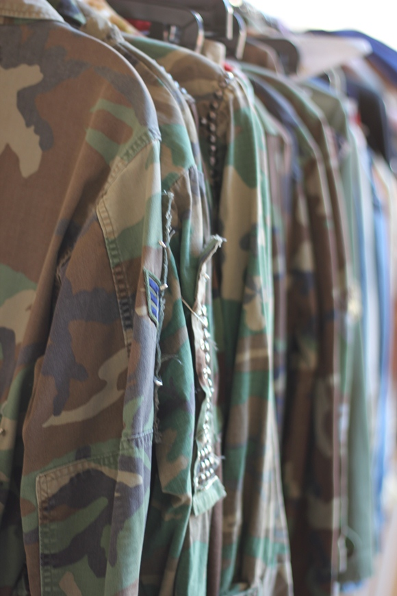 vintage army jackets