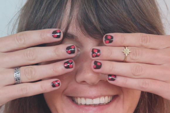 Thumbnail image for Video: How To Create Polka Dot Nails