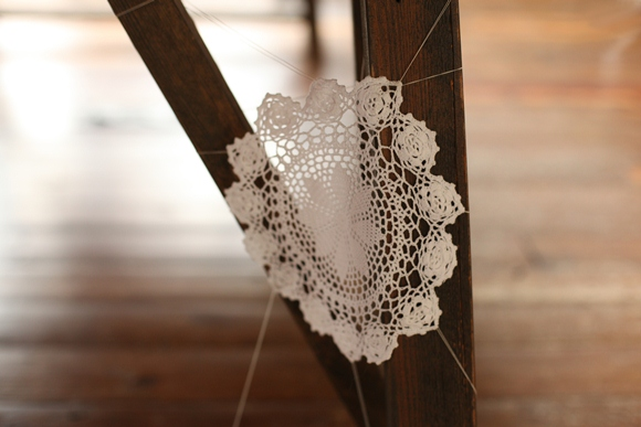 Post image for Decorate For Halloween With Doily Cobwebs!