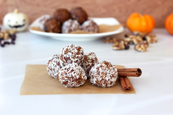 pumpkin spice cookie balls