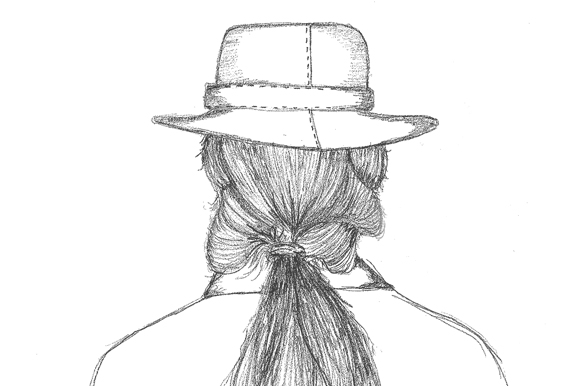 Post image for A Hair Style We Love: The Messy Ponytail