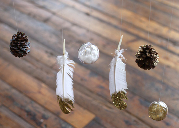 Post image for DIY Holiday Mobile