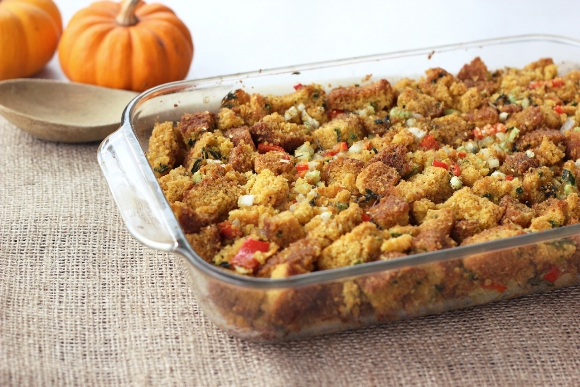 Post image for Vegan/Gluten-Free Cornbread Muffins & Stuffing