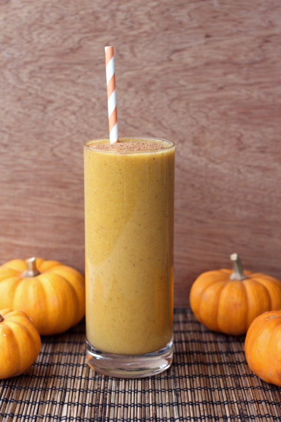 butternut squash chai smoothie