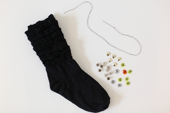 DIY: How To Embellish Your Socks