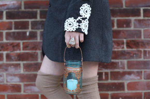 Post image for DIY: Applique Cuffs For Your Winter Coat